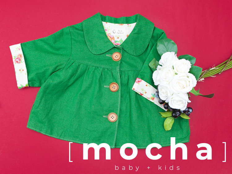 Picture of (6M-24M) Arianna Jacket PDF Pattern