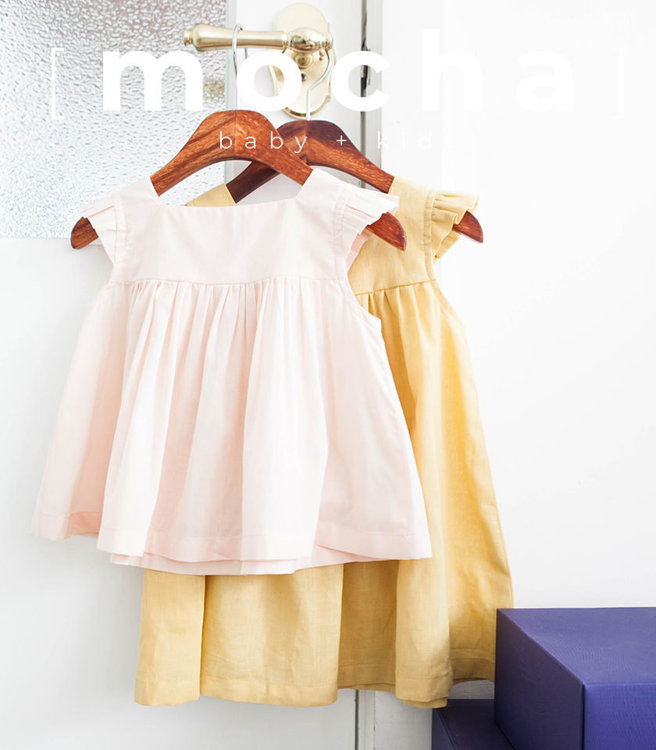 Picture of (3Y-10Y) Fay Blouse and Dress PDF Pattern