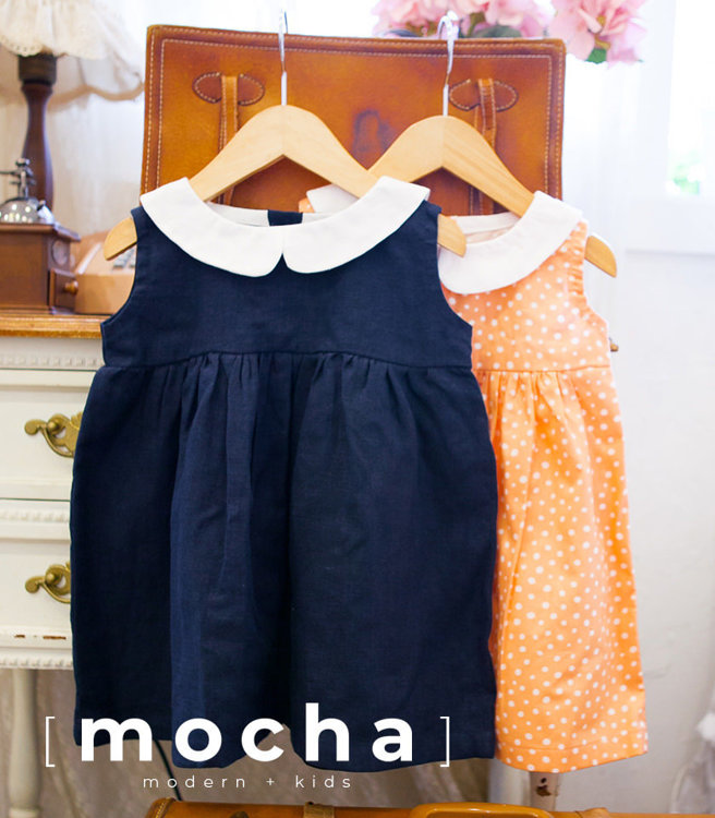 Picture of (3M-24M) Polly Baby Dress PDF Pattern