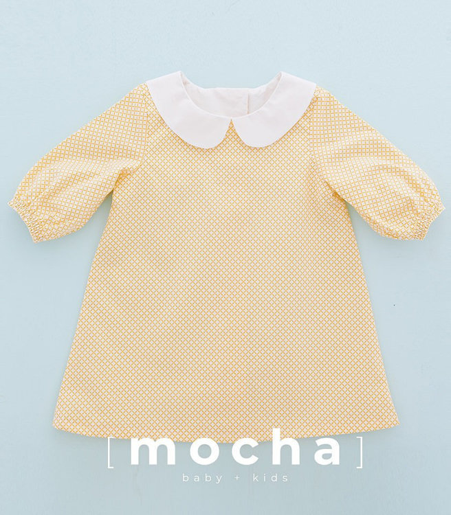 Picture of (3Y-10Y) Sabrina Blouse and Dress PDF Pattern