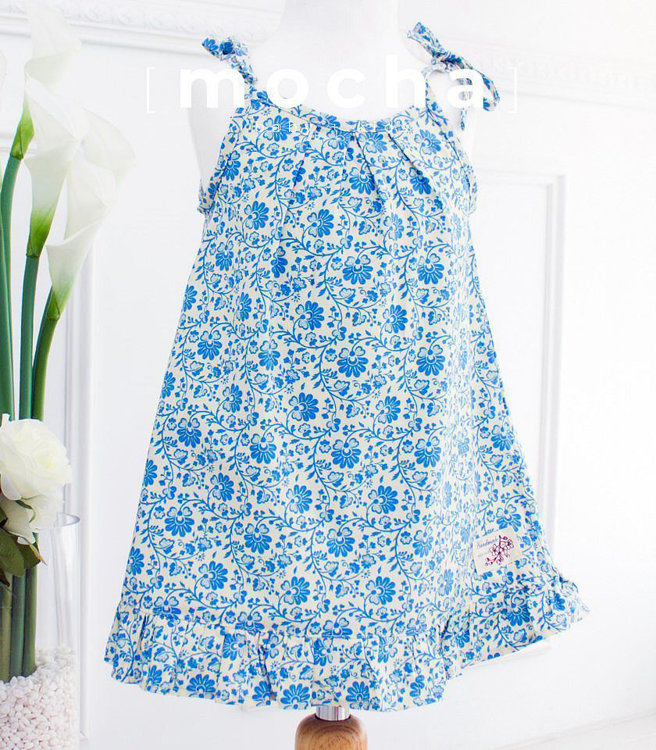 Picture of (3Y-10Y) Florence Dress PDF Pattern