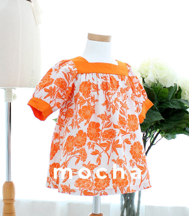 Picture of (3Y-10Y) Dorris Dress PDF Pattern