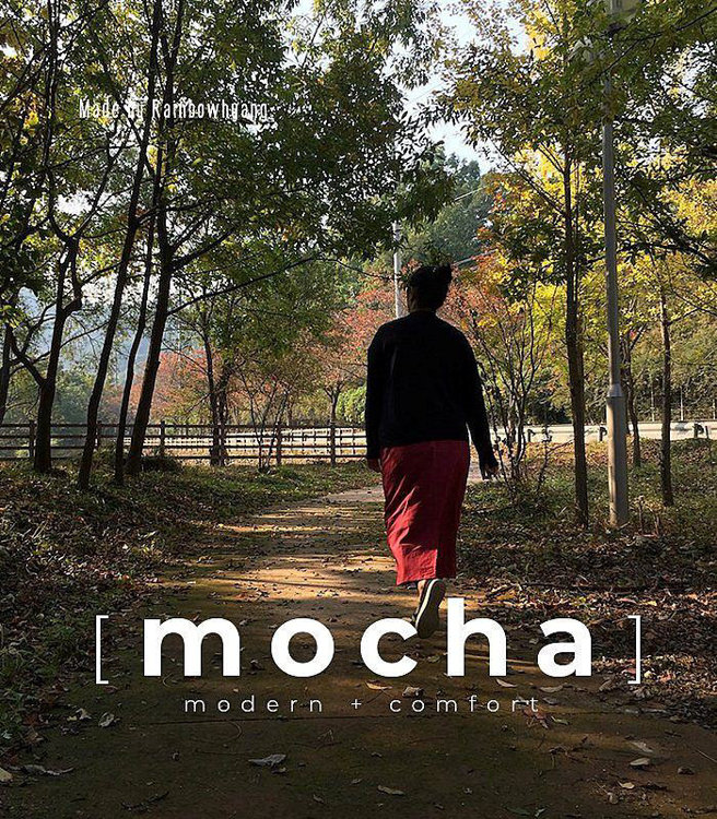 """Picture of MOCHA Luz Semi Tight Skirt PDF Pattern - 4 Kinds of Paper(A4, US Letter, A0, 36""""x48"""")"""