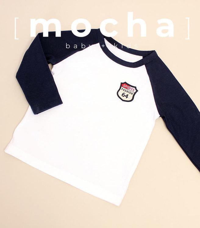 Picture of (3Y-7Y) Logan Raglan T Shirts Unisex PDF Pattern