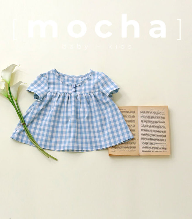 Picture of (3Y-10Y) Clarita Blouse for Kids PDF Pattern