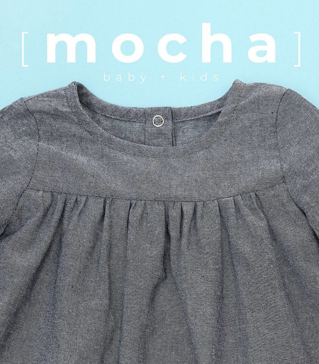 Picture of (3M-24M) Frances Dress for Baby PDF Pattern