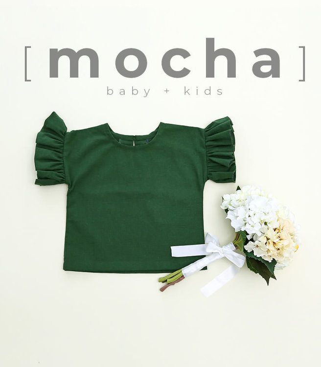 Picture of (6M-24M) Emmalyn Blouse for Baby PDF Pattern