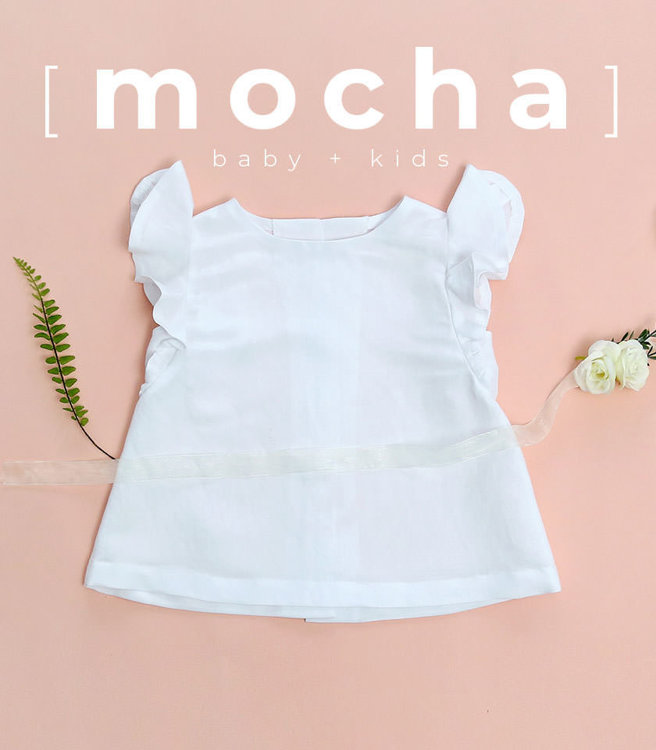 Picture of (6M-24M) Ayanna Blouse for Baby PDF Pattern