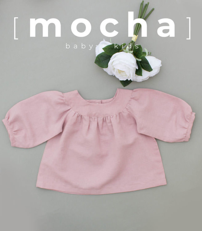 Picture of (6M-24M) Fayre Blouse and Dress for Baby PDF Pattern
