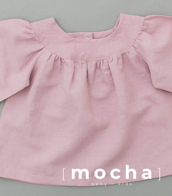 Picture of (3Y-10Y) Fayre Blouse and Dress for Kids PDF Pattern