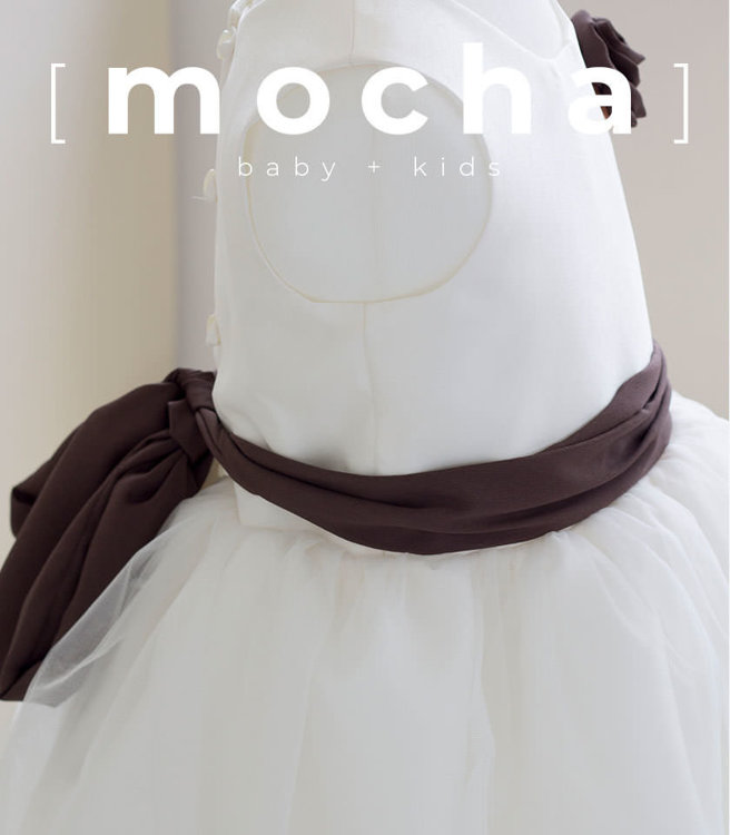 Picture of (3M-24M) Lucille Flower Girl Dress PDF Pattern