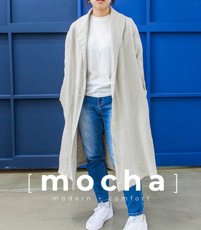 Picture of MOCHA Juanita Shawl Collar Coat (2 Length) PDF Pattern
