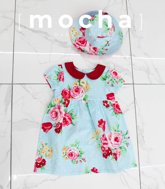 Picture of Charlotte Dress & Veronica Hat Combo PDF Pattern - 10% Off!