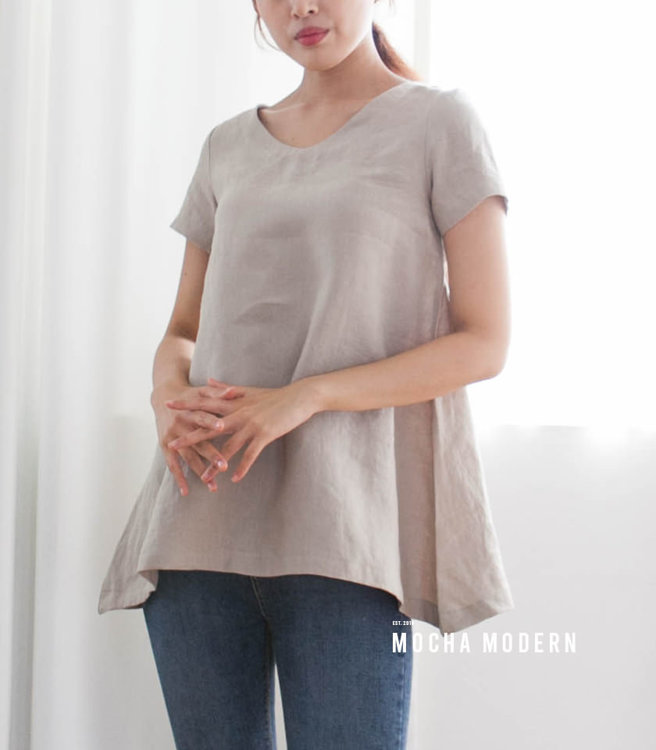 Picture of MOCHA 2 Styles Muriel Tunic and Dress Paper Pattern