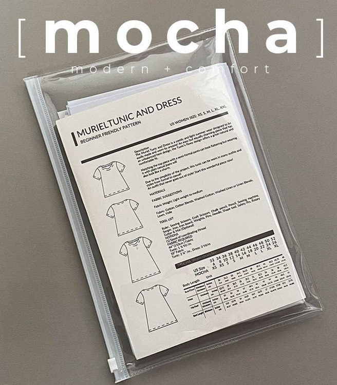 Picture of MOCHA Blanca Blouse Paper Pattern