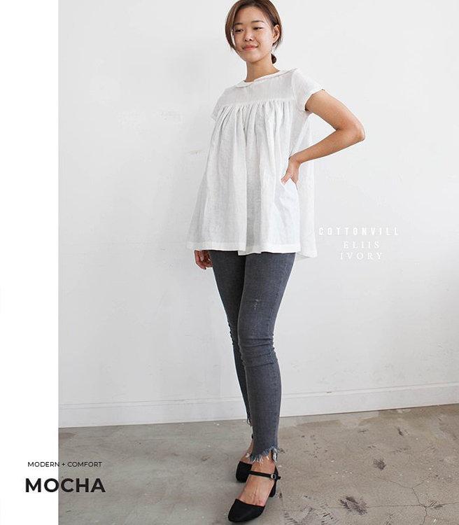 Picture of 10 MOCHA Freya Blouse PDF Pattern (#3187_3174) - 25% Off!