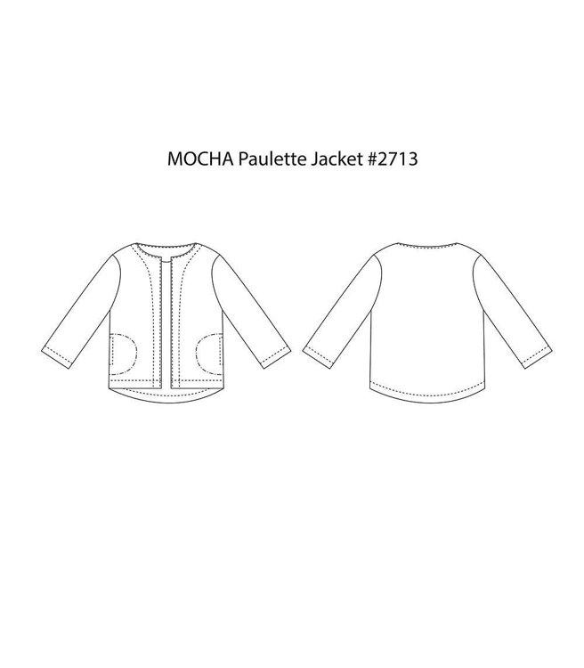 Picture of 10 MOCHA Paulette Jacket Paper Pattern (#3189_3176) - 25% Off!