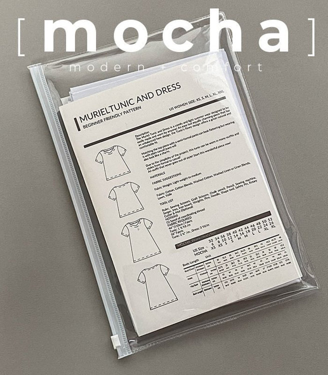 Picture of 10 Kinds of MOCHA Paper Pattern