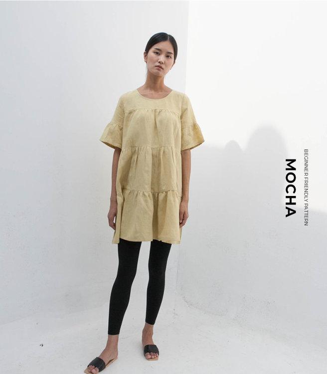 Picture of MOCHA Marie Dress Paper Pattern