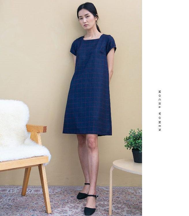 "Picture of MOCHA Wynne Dress PDF Pattern (#3269) - 4 Kinds of Paper(A4, US Letter, A0, 36""x48"")"