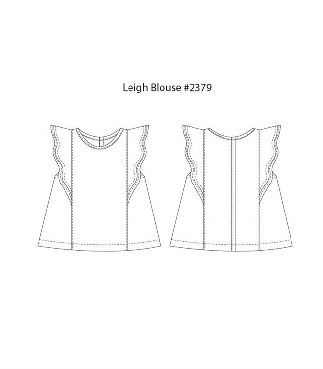 Picture of (3Y-10Y) Leigh Blouse PDF Pattern