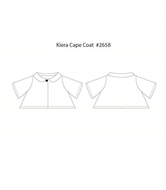 Picture of Kiera Cape Coat (2Y - 10Y) PDF Pattern