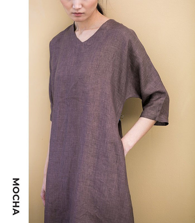 """Picture of MOCHA Betsy Tunic and Dress (Size 2-22) PDF Pattern - 4 Kinds of Paper(A4, US Letter, A0, 36""""x48"""")"""